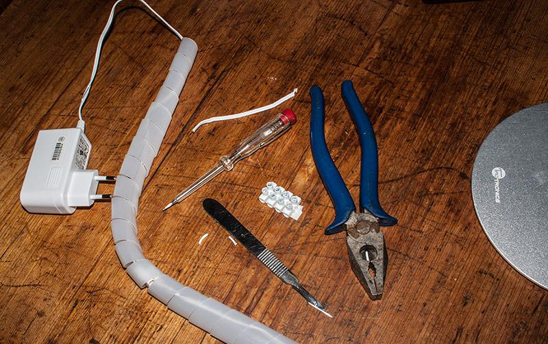 kabel repariert