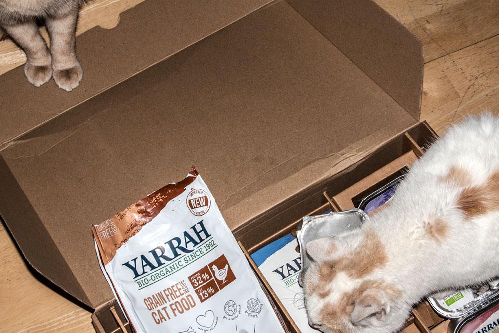 katzenfutter von Yarrah